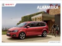 Seat Alhambra Brochure Image