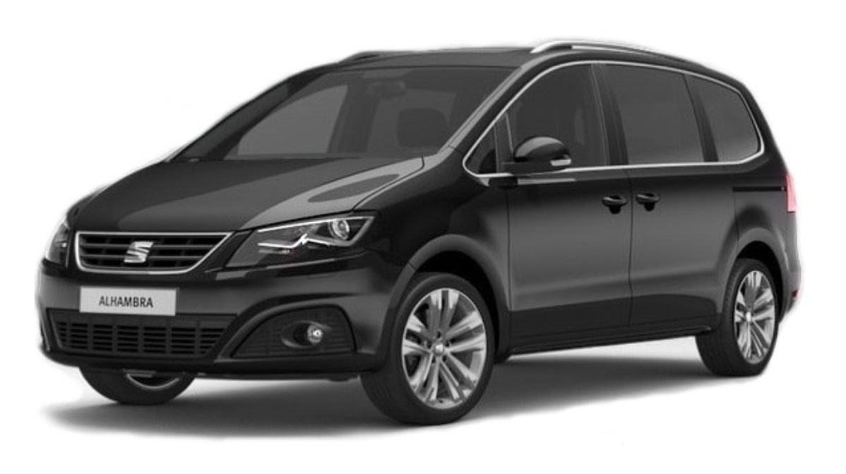 seat alhambra se rent to buy taxi rentals. Black Bedroom Furniture Sets. Home Design Ideas