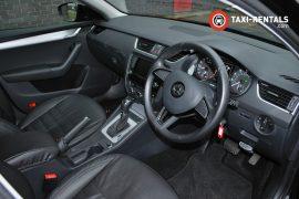 Taxi Rentals Skoda Octavia Front Interior Right