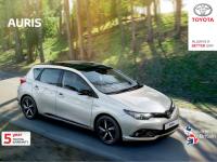 Toyota Auris 2017 Brochure
