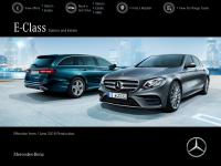 Mercedes_benz E-Class Brochure Thumbnail
